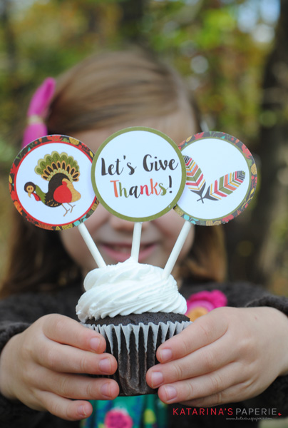 Thanksgivingcupcaketoppers