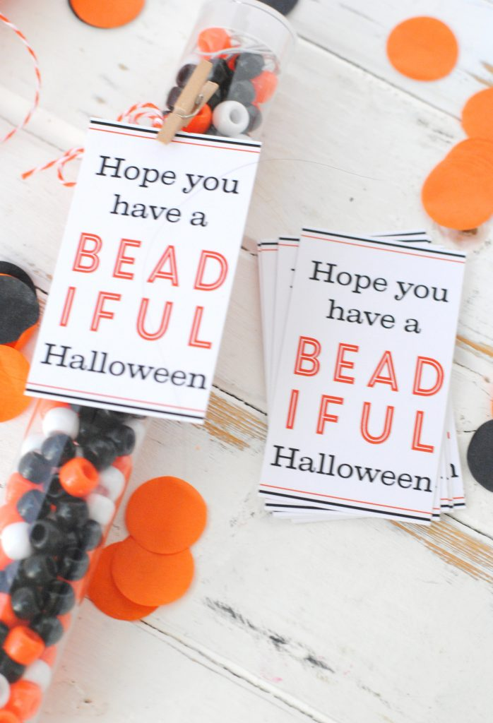 Halloween beading treat