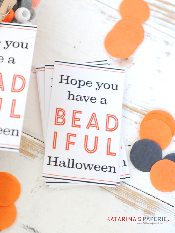 Free printable Halloween tag