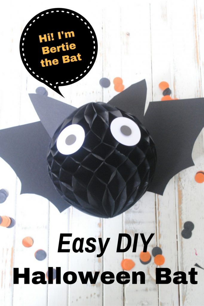 Easy DIY Bat Decoration