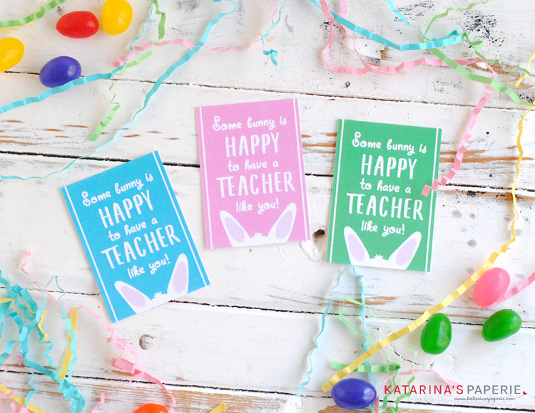 picture about Free Printable Teacher Gift Tags referred to as Free of charge Printable Trainer Easter Reward Tags - KATARINAS PAPERIE
